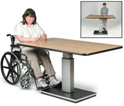Rehabilitation Electric Work Table