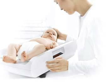 Seca Electronic Baby Scale Digital Display