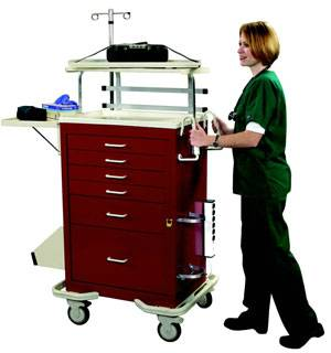 Elite Accessory Package for MPD Style Emergency Crash Carts
