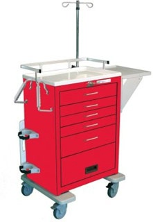 Emergency Cart Package for Steel Cart