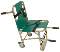 Emergency Rescue Evacuation Chairs w/ 4 Wheels