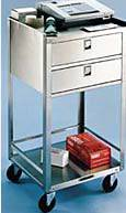 Two Drawer Equipment Stand