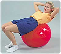Exercise Balls, Red 75 cm