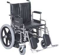 Bariatric Power Chair w/ Removable Arms