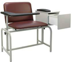 Bariatric Phlebotomy Chair w/ Drawer
