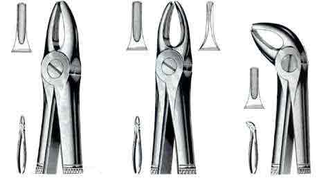 Extracting Forceps No. 99A, Hook Handle