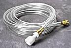 Filler Hose w/Universal Faucet Adapter