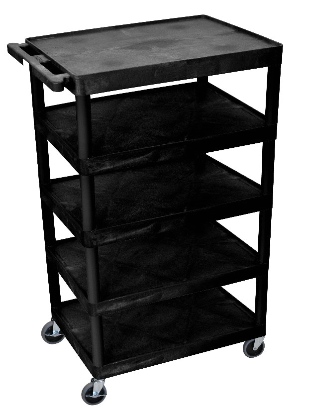 Five Shelf Banquet Carts - 8