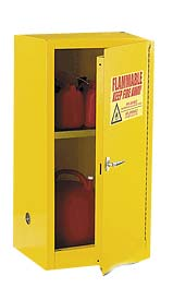 12 Gal. Flammable Safety Cabinet Single Door