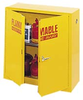 22 Gal. Flammable Safety Cabinet Double Door