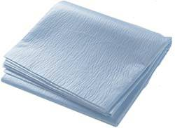Blue Flat Disposable Bed Sheets 40in x 84in