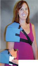 Flexible Cold Shoulder Wrap