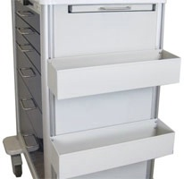 Fluid Trays for Steel Carts