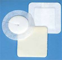 Polyderm Foam Dressing Covaderm Tape Border