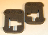 Foam Inserts for Cases - Respirometers