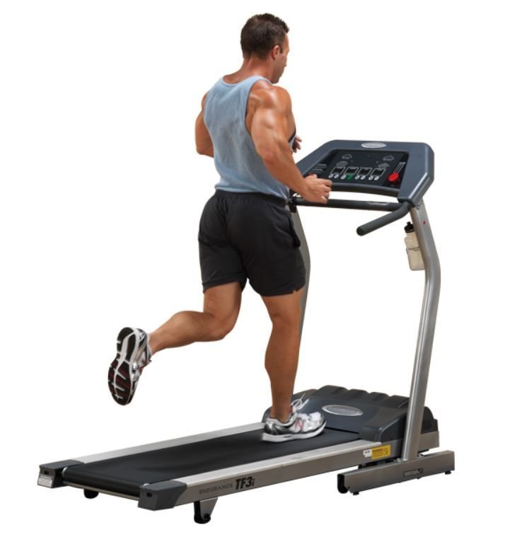 Folding Light Commercial Treadmill w/ LED Display