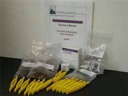 Forensic Chemistry Of Hair Analysis Kit