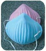 Form-Fit Cone Disposable Masks