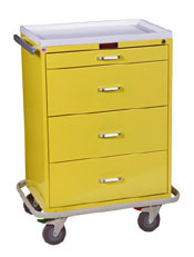 Isolation Cart w/ Key Lock Standard Package