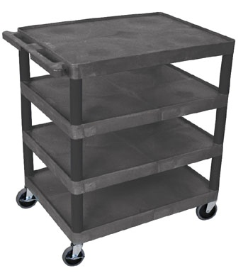 Four Shelf Banquet Cart