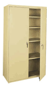 Basic Storage Cabinet w/ Adj. Shelves