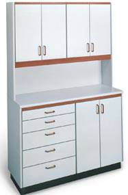 medical office cabinets & hospital storage cabinets