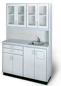 Free-Standing Cabinet Unit Sink