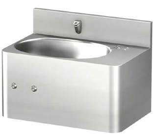 Front Access 20in Lavatory Sink with Oval Bowl
