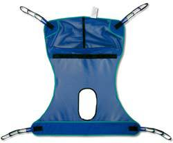 Full Body Mesh Slings w/ Commode Opening, Medium