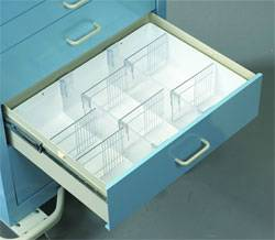 Full Drawer Tray Mobile Cart Accessory