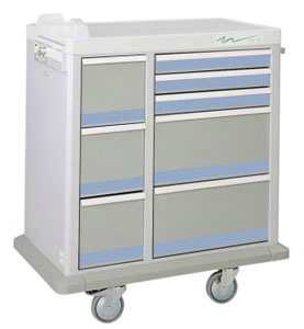 Full Sized Medication Punch Card Cart, 450 Cards