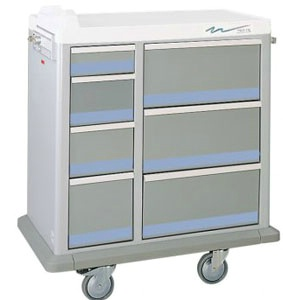 Full Sized Medication Punch Card Cart, 500 Cards