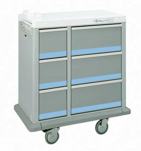 Full Sized Medication Punch Card Cart, 600 Cards