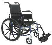 Hemi Wheelchair w/ Swingback Arms