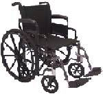 Wheelchair w/ Swingback Arms