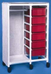 PVC Clothing Cart Bins