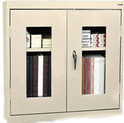 Display Double Door Wall Cabinet