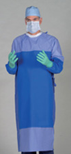 Gore Panel Coverage Surgical Gown
