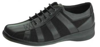 Womens SuedeLeather Lace-Up Shoes