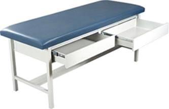 Treatment Table w/ H-Brace & 2 Drawers
