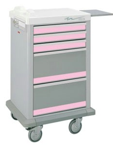 Half Sized Medication Punch Card Cart, 300 Cards