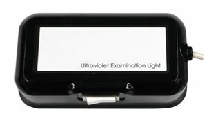 Handheld Ultraviolet Exam Light - Magnifier and 2 Bulbs