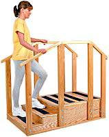 Hardwood Training Stairs - Standard