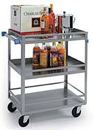 Heavy Duty Guard Rail Cart