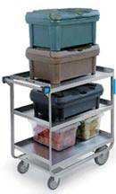 Heavy Duty 3 Shelf Utility Cart