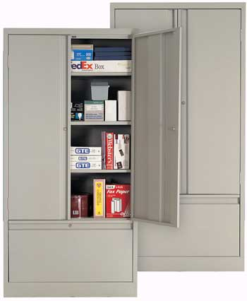 Heavy Duty File  Storage Combination Cabinet