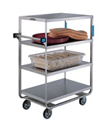 Heavy Duty 4 Shelf Cart