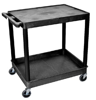 Heavy Duty Utility Cart w/ 2 Shelves