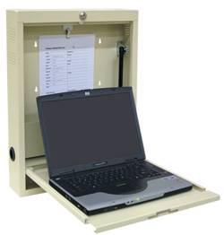 Heavy-Gauge Steel, Laptop Wall Desk