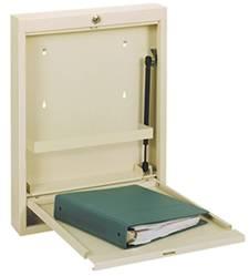Heavy-Gauge Steel Slim Wall Desk